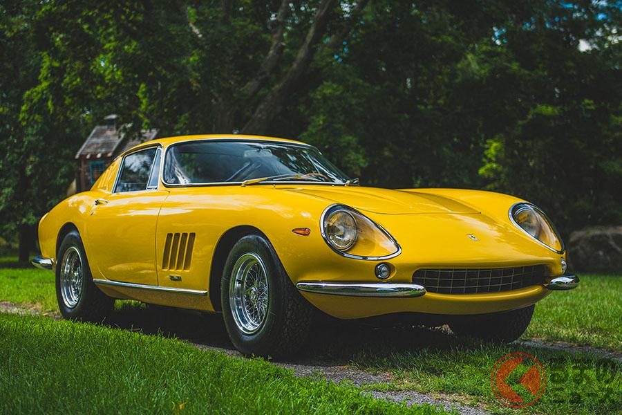 フェラーリ「275 GTB/4 byスカリエッティ」は、「275GTB」より相場価格は5割増しといわれる(C)2020 Courtesy of RM Sotheby's
