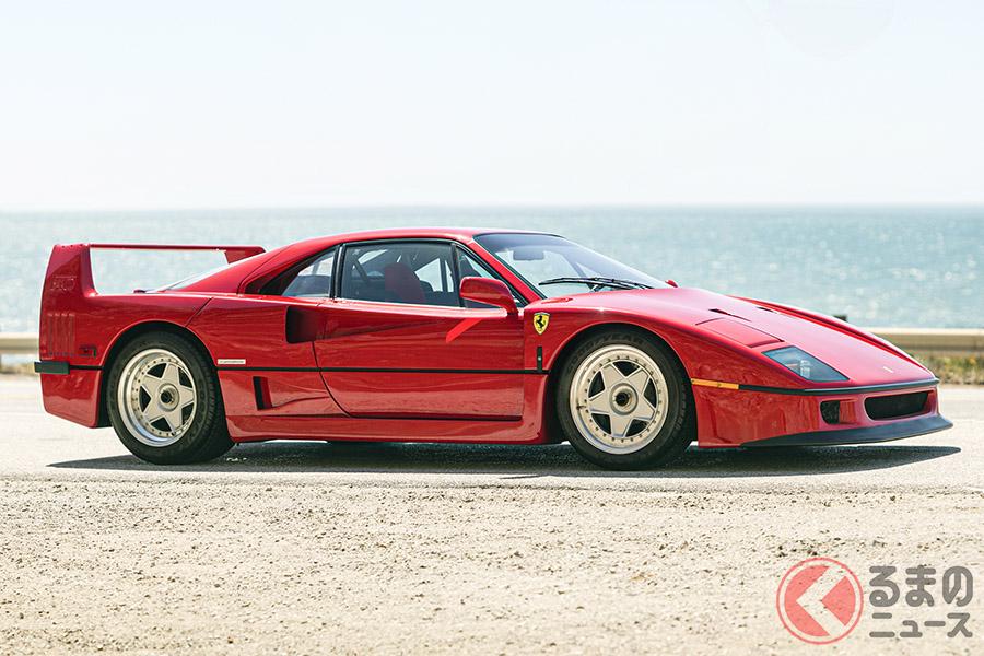 MONTEREY 2013では、1990年式「F40」は、115万5000ドルで落札された(C)2020 Courtesy of RM Sotheby's