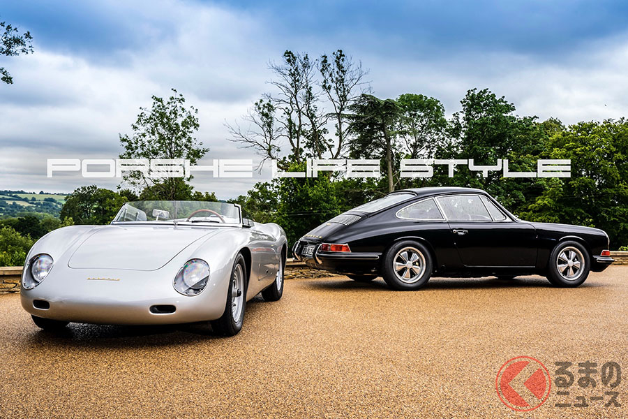 ガイ・ベリーマンの愛車である「356ザガート」(左)、1967年型「911S」(右)(C)2020 Dr. Ing. h.c. F. Porsche AG