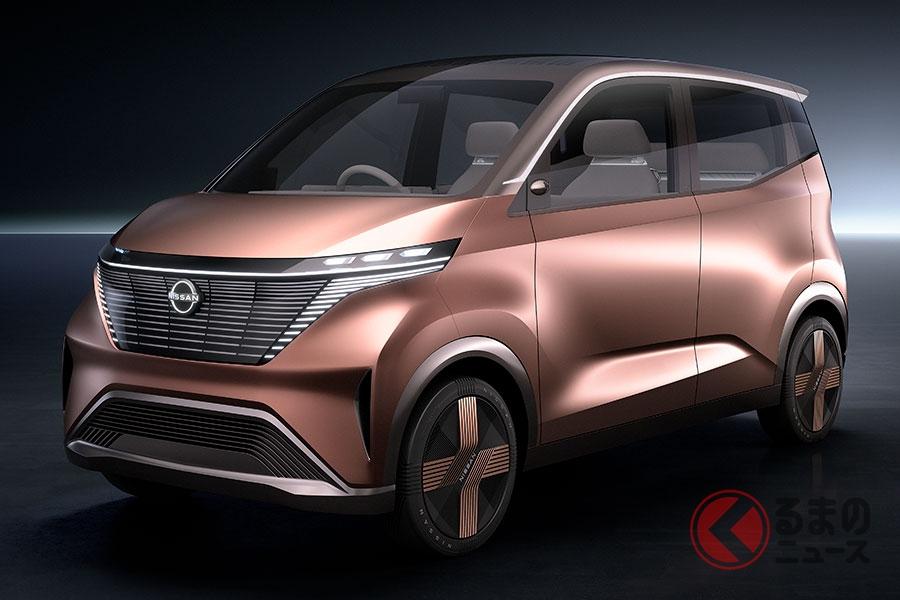 日産の軽自動車EVコンセプトカー「IMk」
