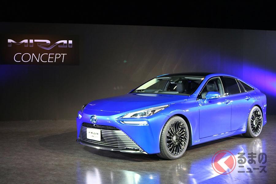 東京モーターショー2019で世界初公開された「ミライ コンセプト」