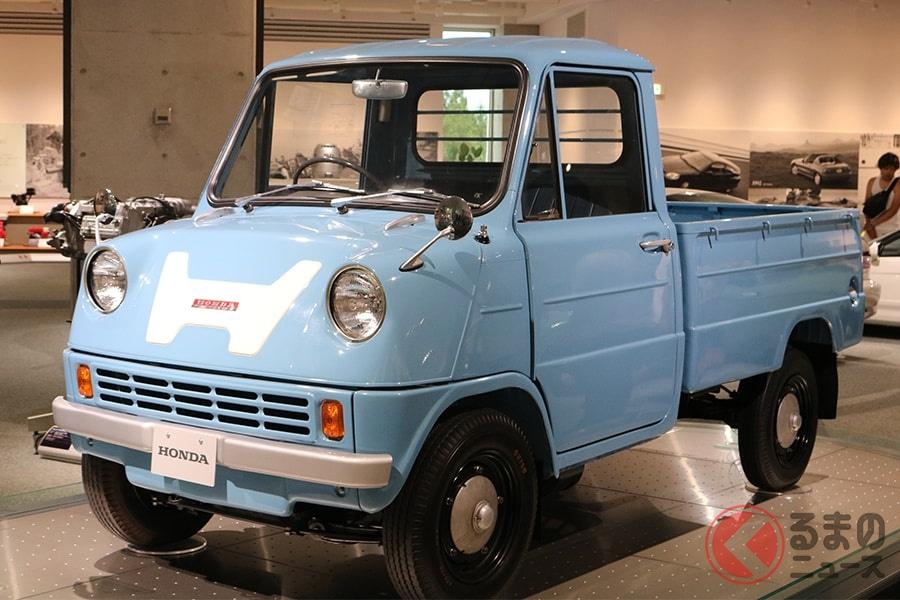 ホンダ車の歴史はこの「T360」から始まった