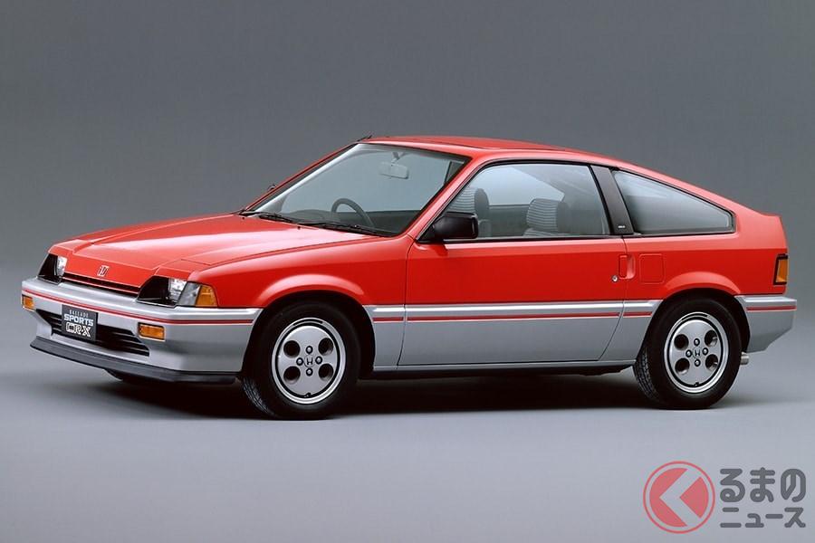 FFスポーツカーとして「シビック」と人気を二分した「バラードスポーツCR-X」
