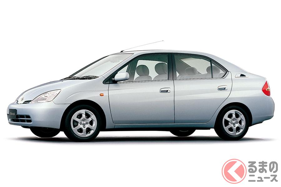 トヨタの威信をかけて開発された初代「プリウス」はかなり贅沢!?