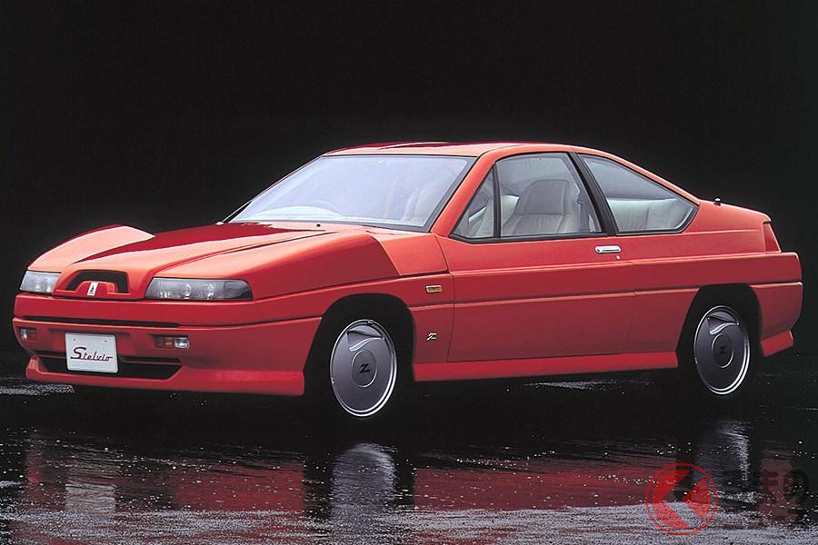 まさにバブルの申し子といえる高級車の「ステルビオ」