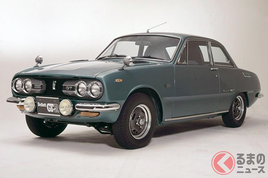 国産車でGTカーの元祖といわれる「ベレット」(画像はGT typeR)