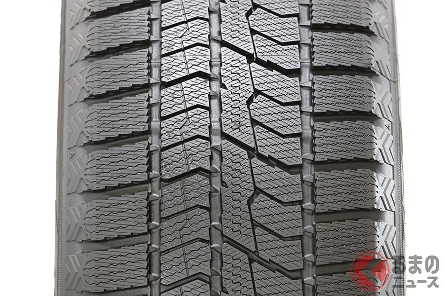 TOYO TIRESの新スタッドレスタイヤ「オブザーブGIZ2(ギズツー)」のトレッドパターン