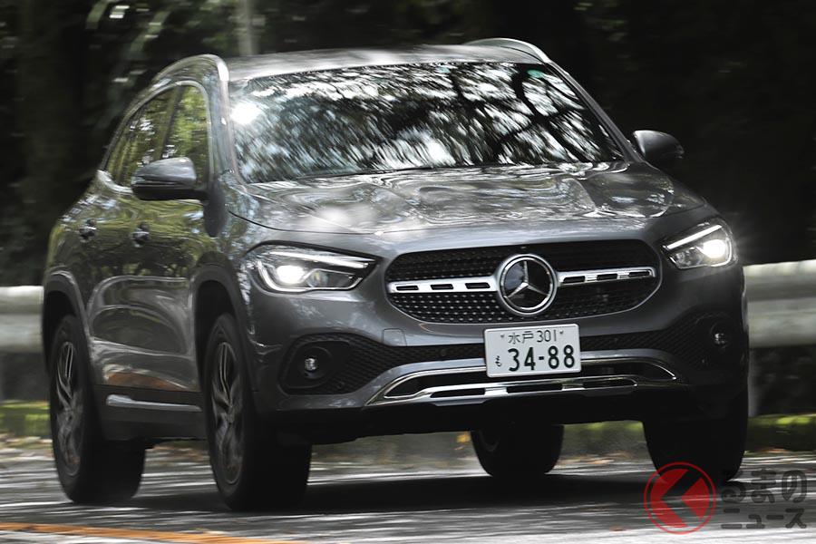 メルセデス・ベンツ新型「GLA」。2020年6月に日本に上陸した