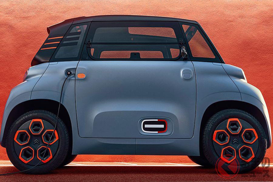 シトロエンの電気自動車(EV)「アミ」