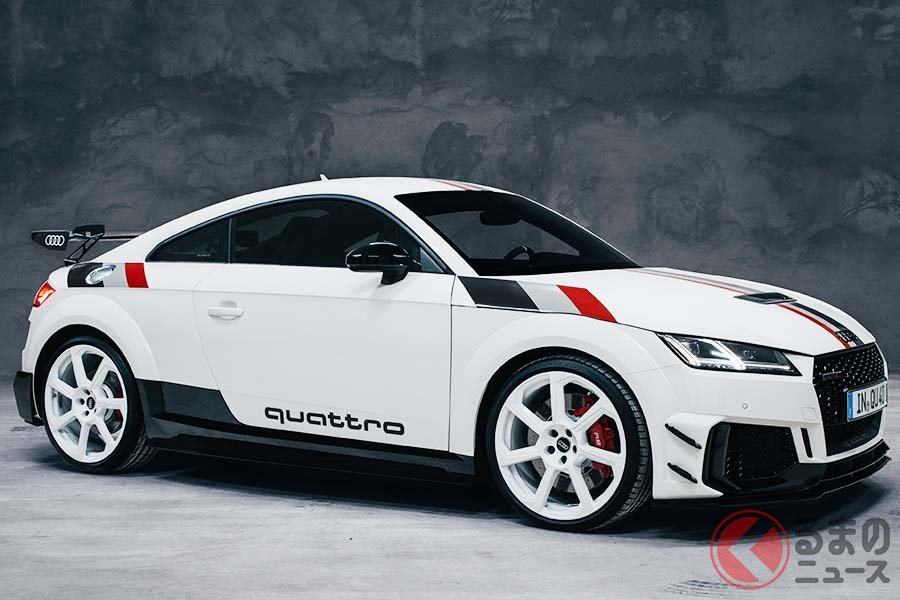 アウディ「TT RS 40 years of quattro」