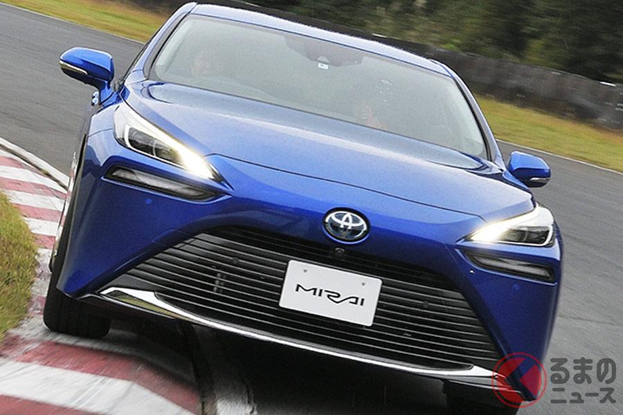 トヨタ新型「ミライ」