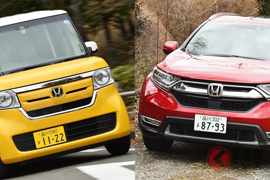 販売好調な軽自動車「N-BOX」と米国帰りのSUV「CR-V」