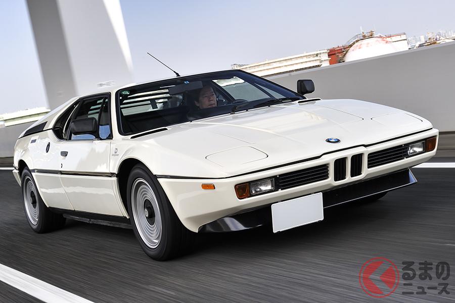 40年まえのイタリア・ブランドのライバル車と比べ、M1のシャシ性能の高さ、安定感は段違いといって差し支えない