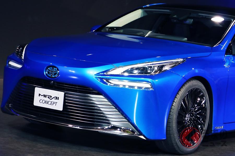 トヨタ新型「ミライ」のコンセプトカー
