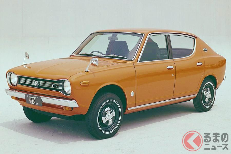 日産初のFF車としてデビューした記念すべきモデルの「チェリー」