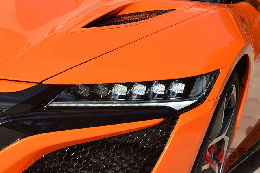 ホンダ「NSX」のLEDヘッドライト