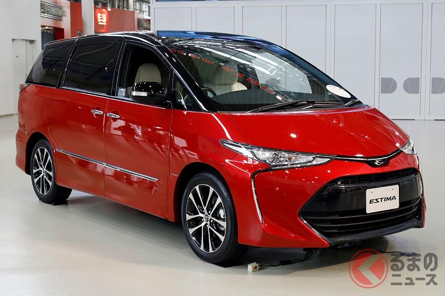 2019年10月に生産終了したトヨタ「エスティマ」