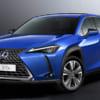 レクサス、新型電動SUV「UX300e」世界初披露! ブランド初の市販EVは人気SUVベースで2021年国内発売へ