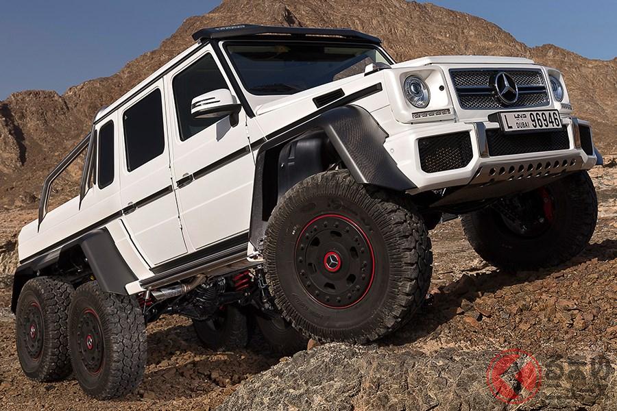 価格もサイズも規格外な6輪駆動車の「G63 AMG 6x6」