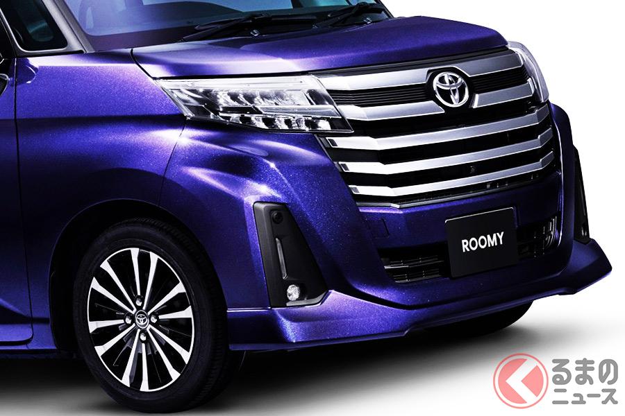 2020年10月の登録車販売台数ランキングで3位となったトヨタ「ルーミー」