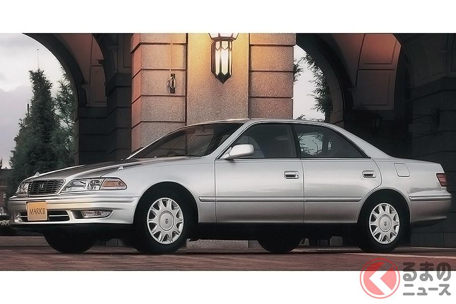 ラグジュアリーなモデルだけでなく高性能車も設定された「マークII」