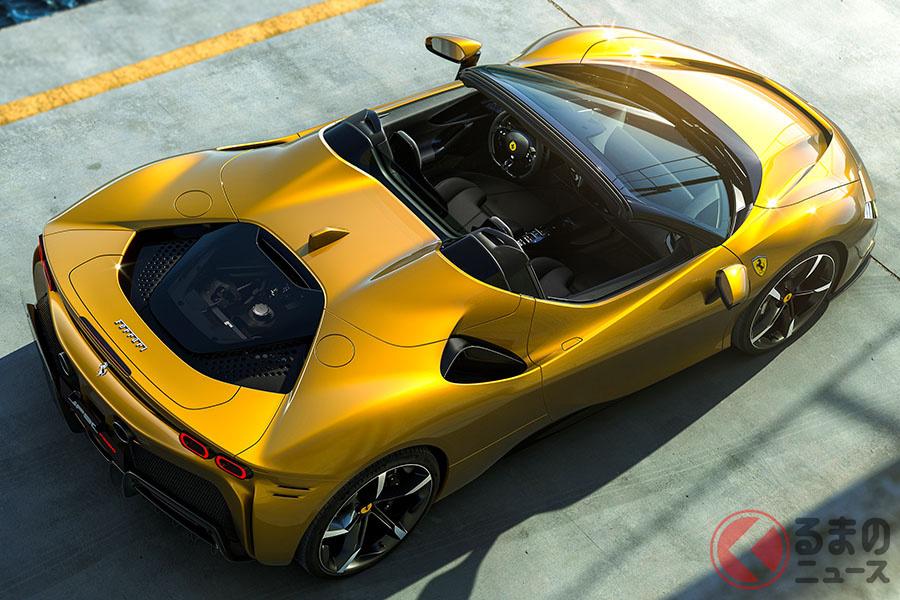 量産型スパイダーとしてはライバルの追随を許さないフェラーリ「SF90スパイダー」