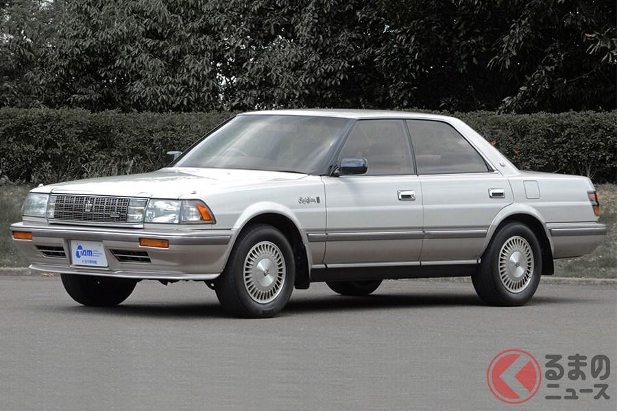 歴代でもっとも販売台数が多かった1987年発売の8代目「クラウン」