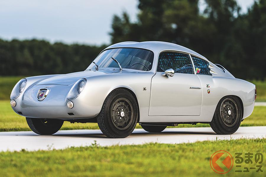 1957年のミッレ・ミリアで小排気量GTクラス優勝を獲得したフィアット・アバルト「750GTザガート」(C)2020 Courtesy of RM Sotheby's