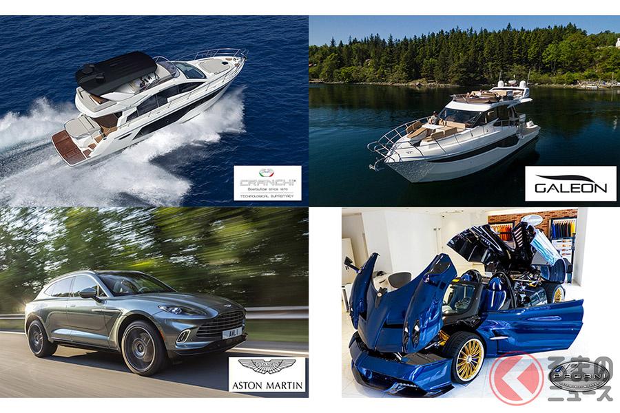 海外ラグジュアリーボート10艇にスーパーカーの出展もある「リビエラ プレミアム ボートショー」は「リビエラ逗子マリーナ」で開催