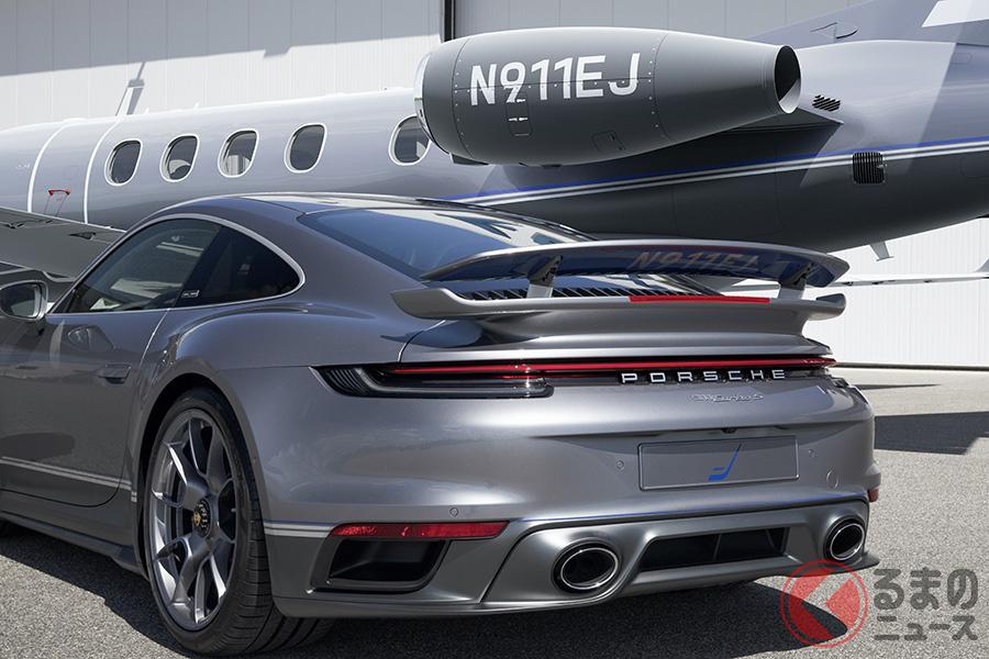 ポルシェ「911ターボS」とプライベートジェット機「フェノム300E」が夢のセット販売される