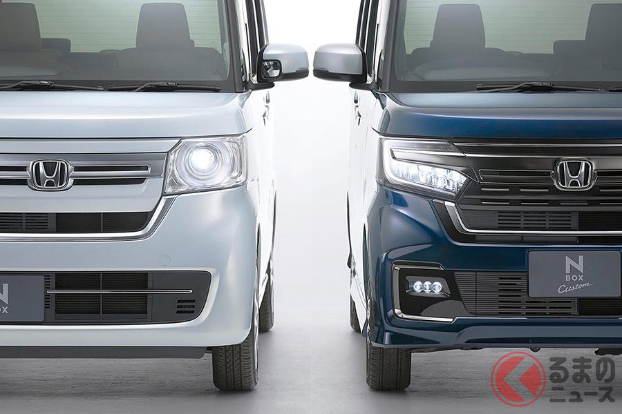 N-BOX/N-BOX Customはマイナーチェンジによって、新車販売台数において、6年連続王者を狙えるか
