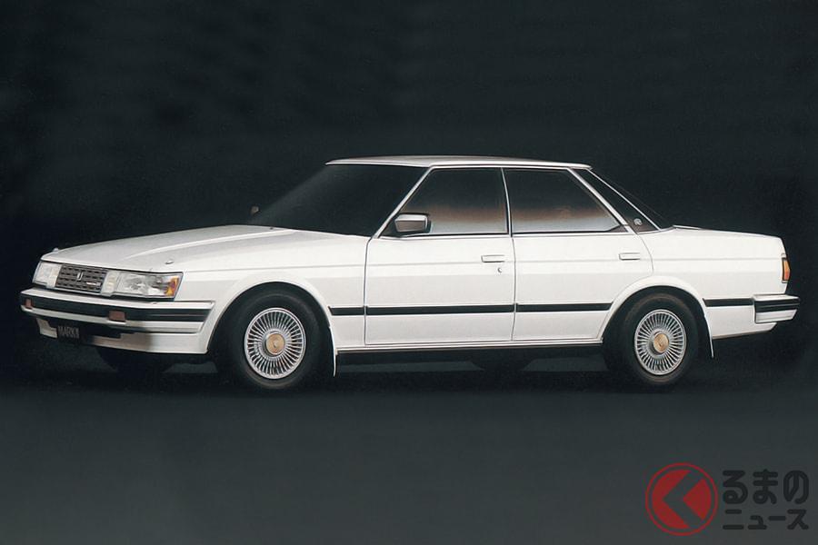 ハイソカーとして一世を風靡したセダンの5代目「マークII」