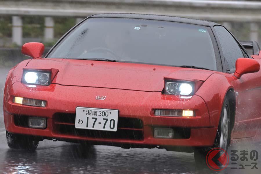 1990年9月に登場したホンダ初代「NSX」。登場から30年経った2020年に、あらためて試乗した