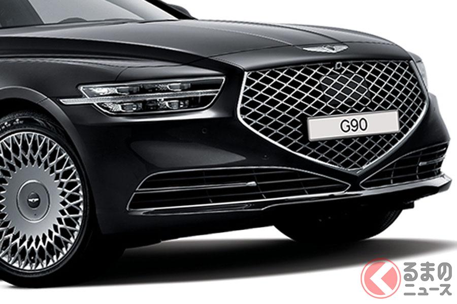 ジェネシスのフラッグシップセダン「G90」
