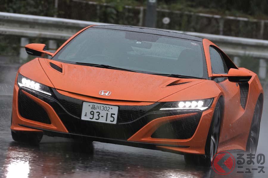 ホンダ「NSX」の走り