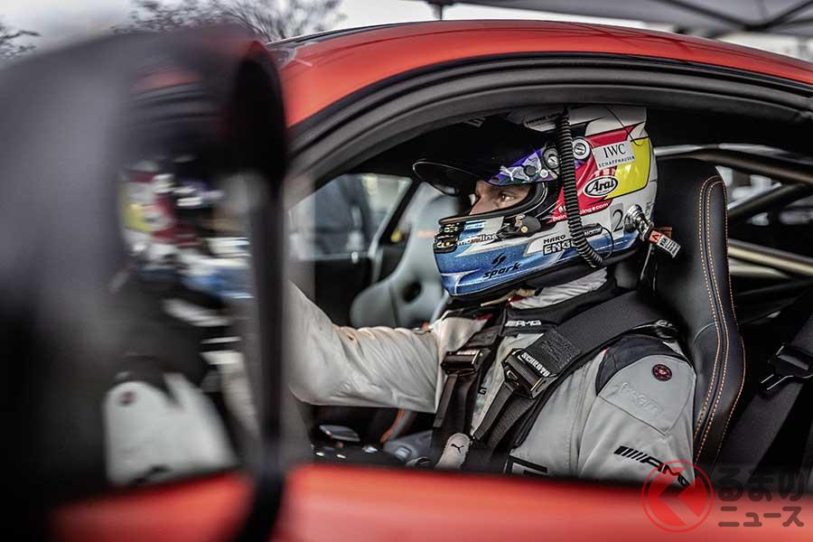 ドライバーはGT3レーサー、マロ・エンゲル選手