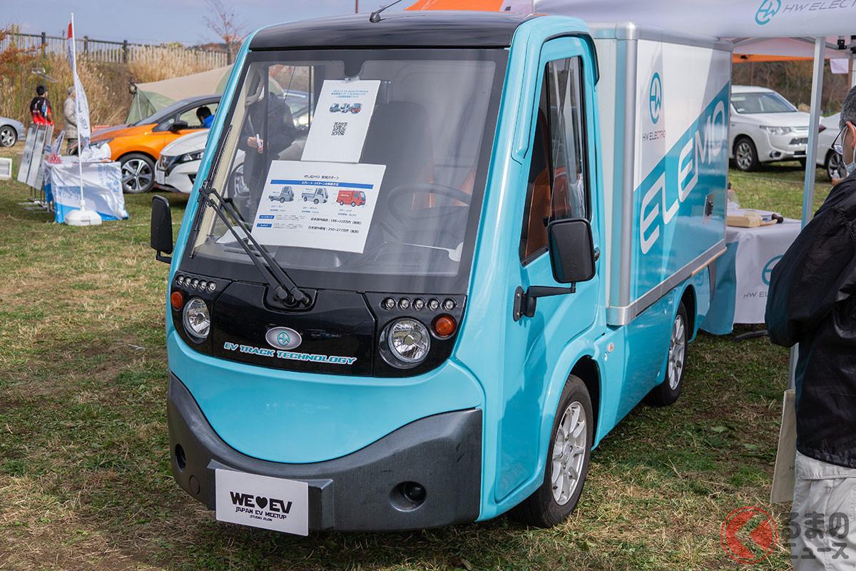 中国製小型EVトラック「メトロ」。物流業界に変化をもたらすか