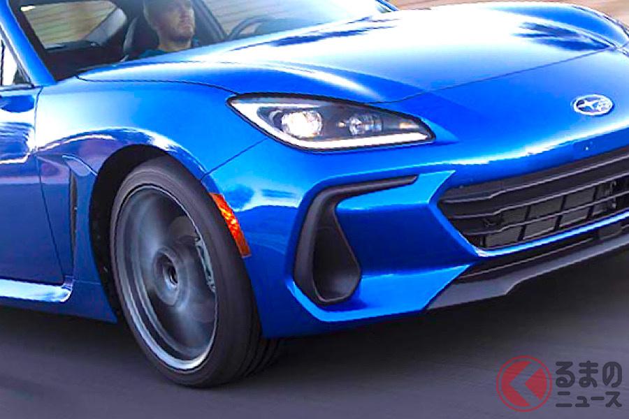 フルモデルチェンジして2021年秋に発売されるスバル新型「BRZ」(北米仕様)