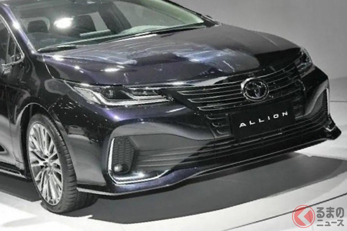 中国向けセダンとして発表されたトヨタ新型「アリオン」