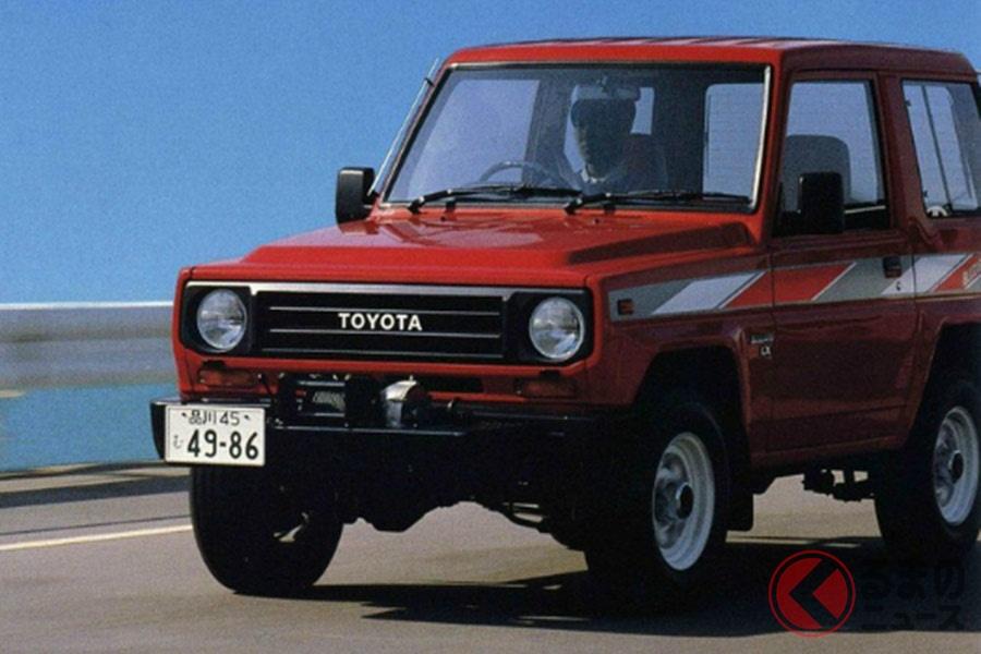 ダイハツ「タフト」のフルモデルチェンジによって車名を「ラガー」に変更した際にOEM供給されたトヨタの2代目「ブリザード」