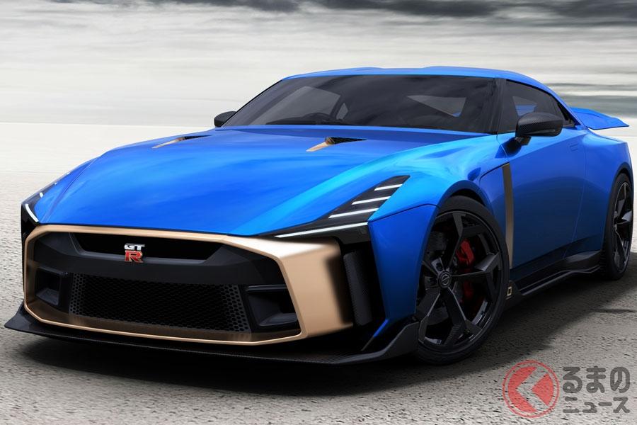 車両価格は約1億2000万円にのぼる「GT-R50 by イタルデザイン」