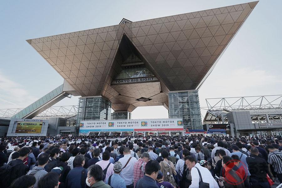 東京モーターショー2019に130万人が来場