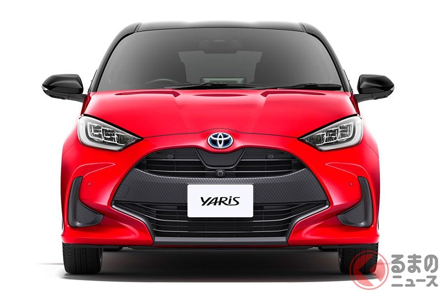 トヨタ新型「ヤリス」(2020年2月10日発売)