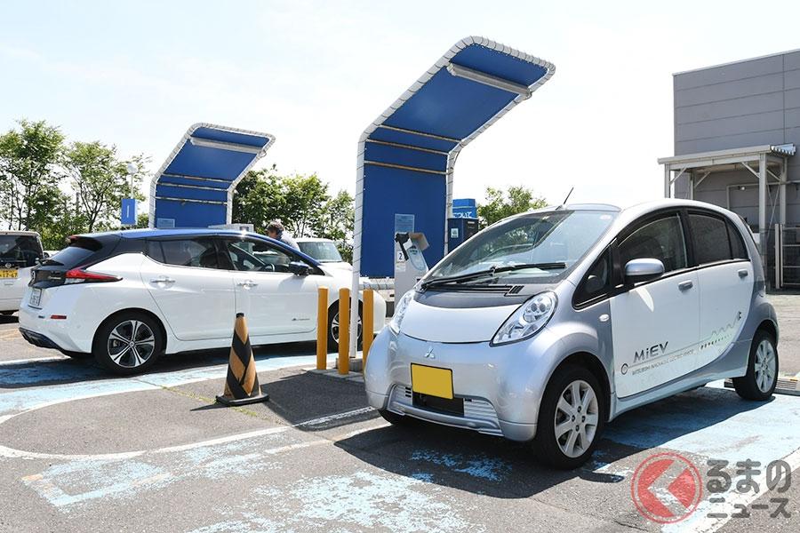 高速SAではEV/PHEVの充電渋滞が発生