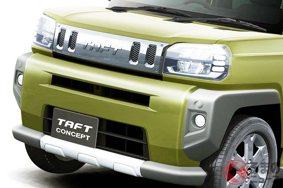 ダイハツが市販を予定している軽SUV「タフト」はスズキ「ハスラー」のライバルか!?