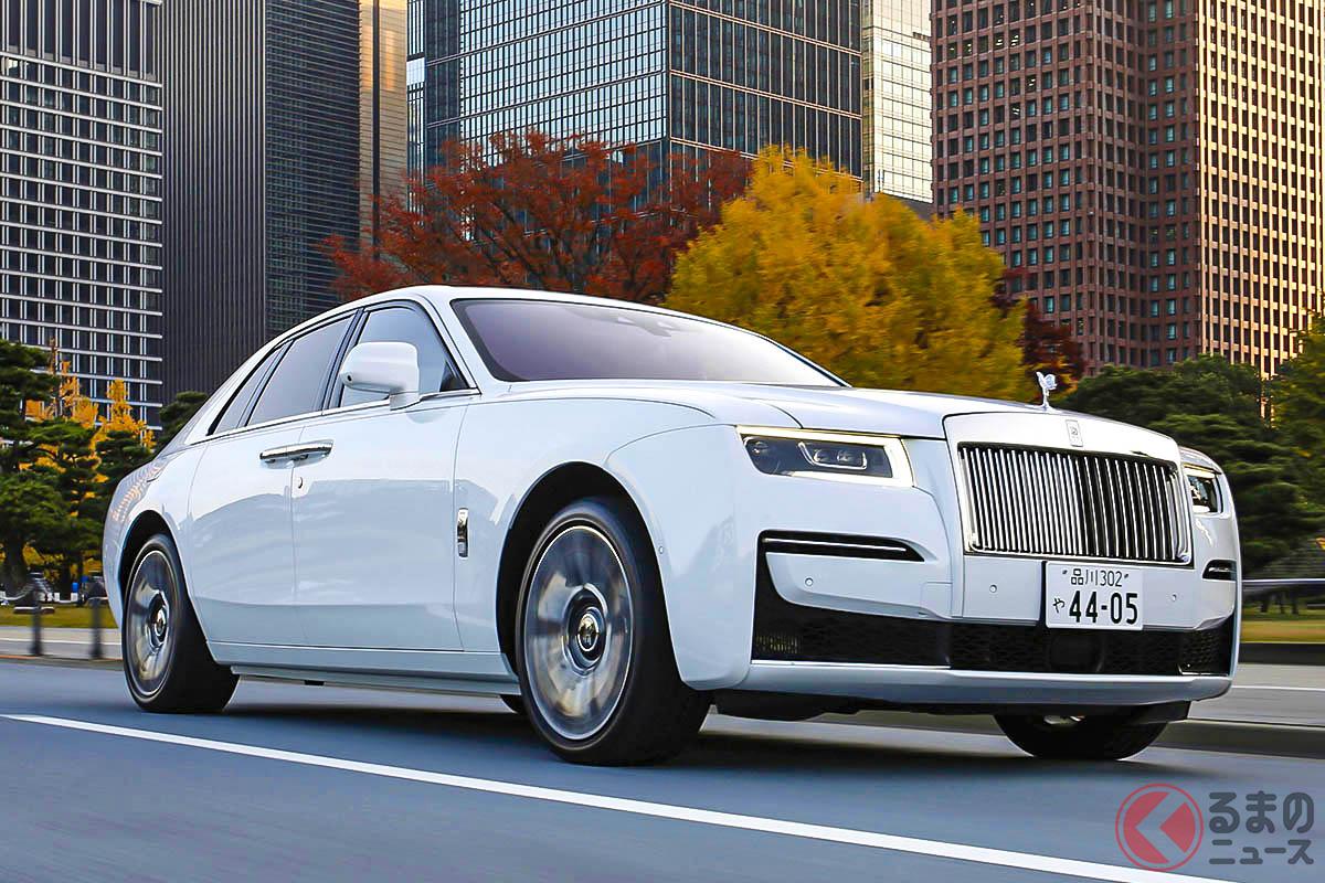 世界でもっとも高級な自動車ブランドであるロールス・ロイスの新型車として開発され、先代以上に豪華な装備をふんだんに投入されたロールス・ロイス「ゴースト」