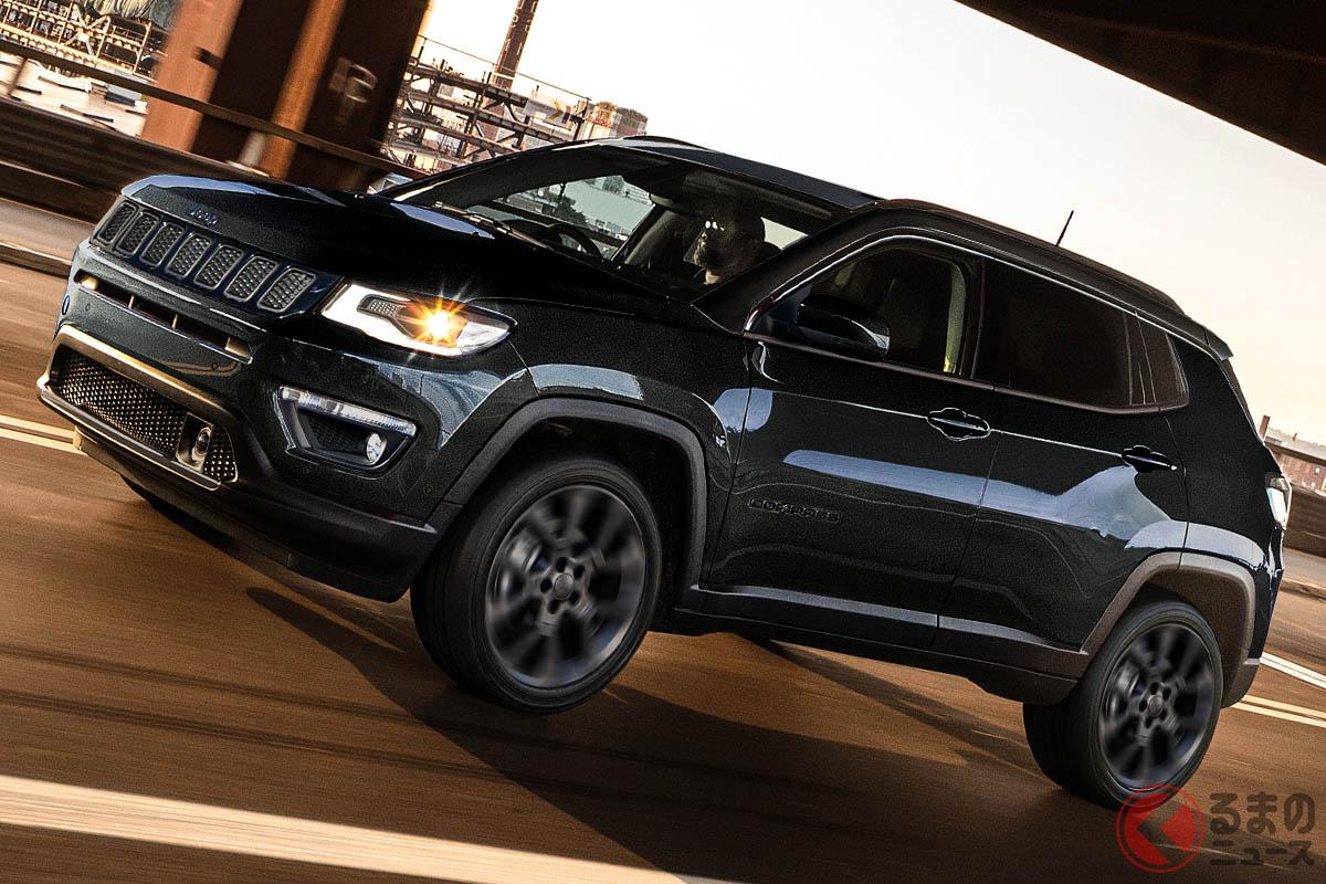 「コンパス・S-モデル」の車両価格(消費税込)は、439万円