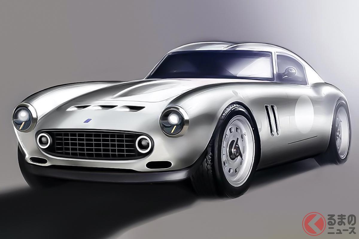 「GTOエンジニアリング社」が手掛ける「V12モダナ」は、フェラーリ「250GT SWB」のレストモッドといえる
