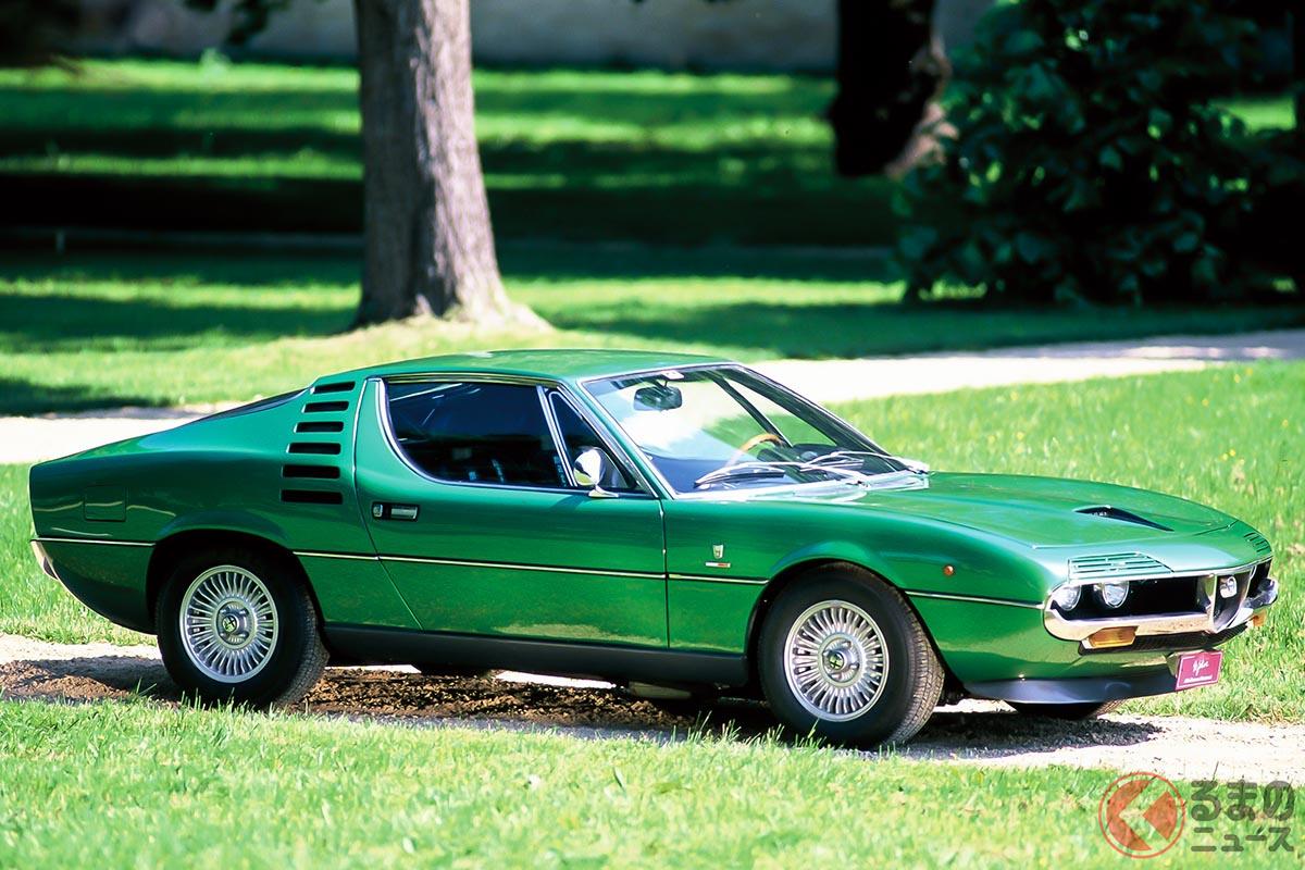 マルチェロ・ガンディーニのデザインコンセプトカーが好評を得たことで、市販化されることになった「モントリオール」