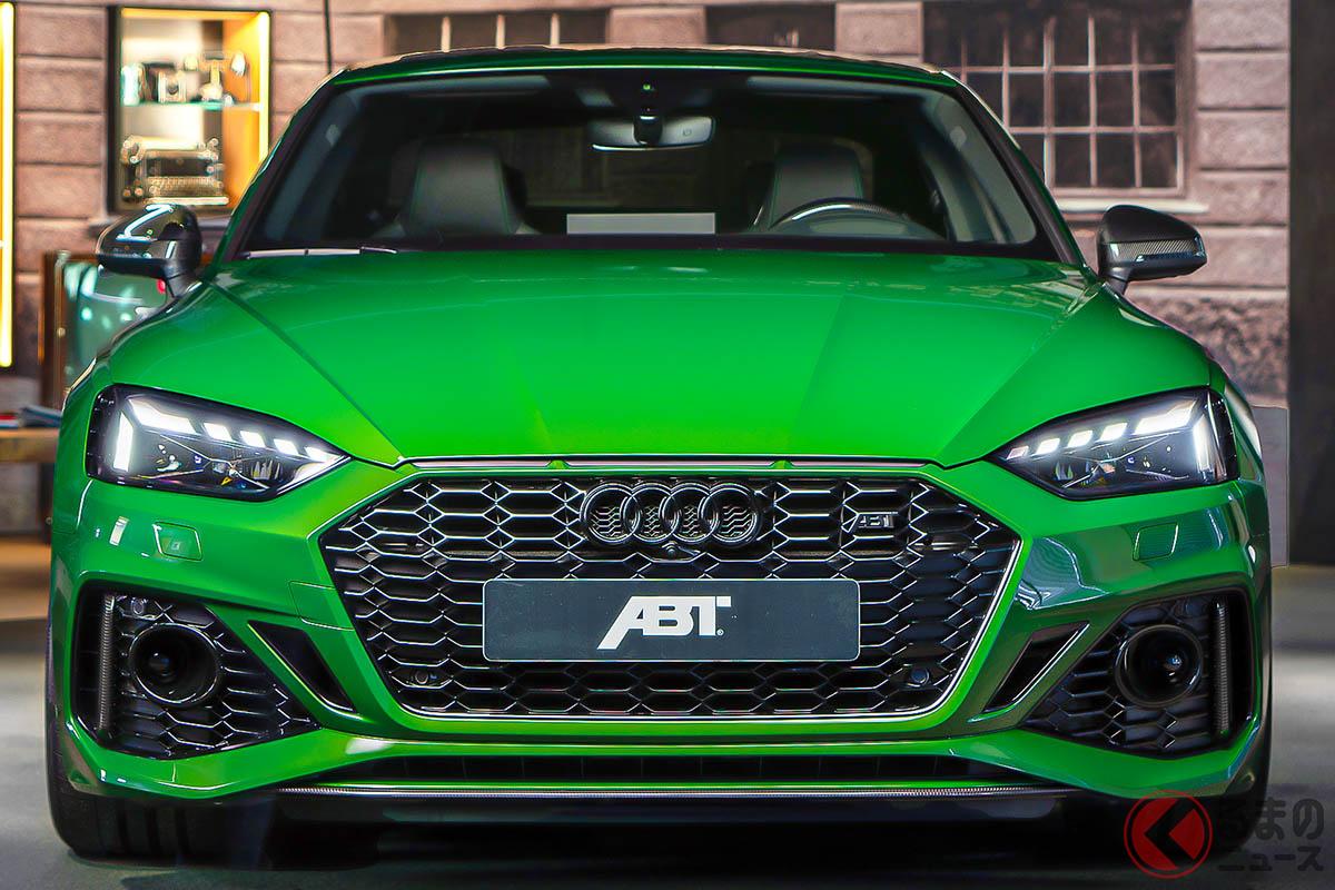 ABTがチューニングの技術力の高さ、そしてモータースポーツでの実績をアピールする目的で重要なモデルとなる「ABT RS5クーペ」
